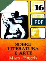 Karl Marx _ Friedrich Engels - Sobre Literatura e Arte