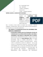 ABSUELVE EXEPCION DE FALTA DE LEGITIMIDAD Y PRESCRIPCIÓN.docx