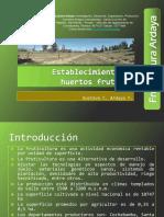 Establecimiento de Huertos Frutales PDF.