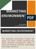 2 Marketing Environment