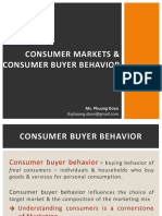 3 Consumer Markets and Consumer Buyer Behavior