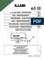 Manual Operador SULLAIR 65K