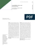 Artigo. Demografia, Vulnerabilidades e Direito à Saúde No Sistema Prisional