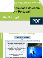 A Especificidade Do Clima Port. I - 15-16