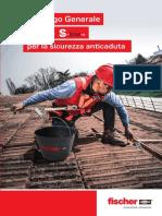 Catalogo fischer S-Line per la sicurezza anticaduta