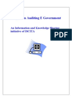 The Auditing Egovernment
