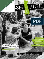 Programme des 48h de la pige 2017 à Rennes