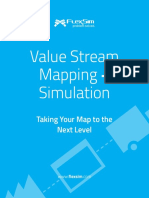 Value Stream Mapping using FlexSim Simulation Software