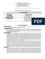 Ficha de Análisis Estático Sentencia c 598