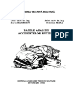 Bazele Analizei Accidentelor Rutiere