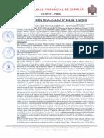 00002208 - Resolución de Alcaldia n 208-2017-Mpe-c