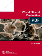 World Mineral Production 2011-2014