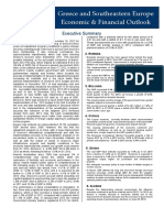 Greece and Southeastern Europe Economic & Financial Outlook