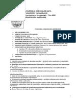 Arq Americana Programa 2015