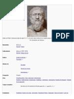 Busto de Platón