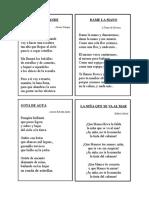 Poemas Para Declamación