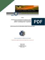 Guía Evaluativa de Recursos Didácticos Digitales
