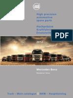 OM Piese Motoare Electrice Mec Truck Mercedes Catalogue 2012