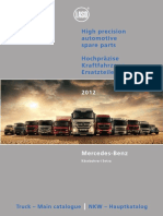 OM Piese Motoare Electrice Mec Truck Mercedes Catalogue 2012