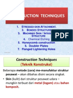 3 Construction Techniques Stressed Skin Bonded Integral