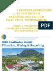 Continuous Pressure and Vacuum Filtration 2017