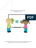 integrating technology into the k-2 classroom - google docs