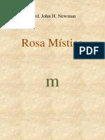Cardenal John Henry Newman - ROSA MISTICA