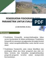 3. Pendekatan Fisiografik dan Parametrik untuk Evaluasi Lahan.pptx