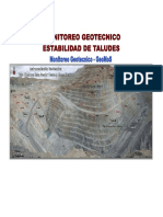 Monitoreo Geotecnico