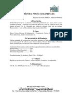 Ficha Técnica del Panel Ecolaminado 08-Mar-16..pdf