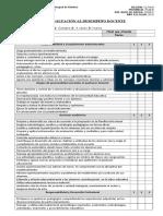 Pauta de Evaluación a La Acción Profesional Del Docente
