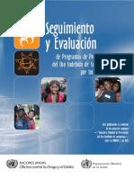 (MFN 2379) Seguimiento y Evaluacion de Programas de Prevencion Del Uso Indebido de Sustancias
