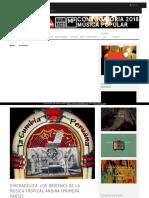 Articulos Chichadelica Los Origenes de La Musica Tropical Andina Primera Parte