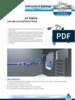 f.t. Ficha Tecnica Valvula Control de Nivel Con Flotador Electrico