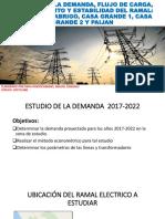 Estudio de La Demanda, Flujo de Carga, Cc y Estabilidad de s.e.p. Trupal