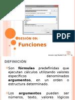 Sem09 Ofimática Ms Excel Funciones
