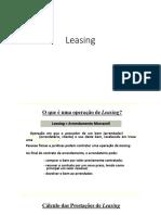 Leasing, CET e IOF