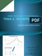 PRQ404 – INTERPOLACION