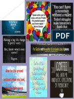 Inspirational Quotes Background