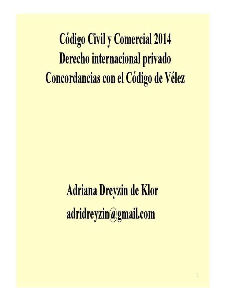 DA Clase El Derecho Internacional Privado en El Codigo