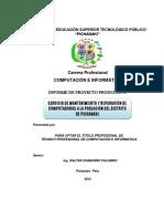 Informe de Soporte Tecnico 2014