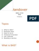 SBOL - Handover