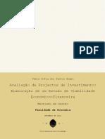 Avaliação de Projectos de Investimento - Elaboração de um Estudo de Viabilidade Económico-Financeira.pdf