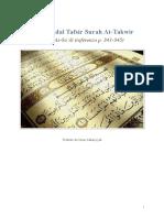 Estratto Tafsir Surah at-Takwir