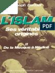 """(Tome 2) """"L'Islam, ses véritables origines"""", par l'abbé Joseph Bertuel"""