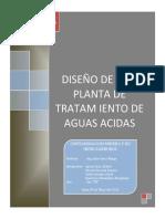 Diseño Planta de Tratamiento La Zanja
