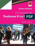 Guide Etudiant 2012