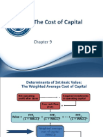 Ch 09 - The Cost of Capital