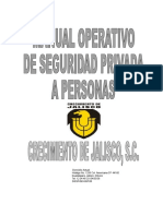 Manual de Seguridad Privada a Personas