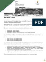 Construccion II - Excavaciones Sept 2016